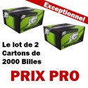 Le lot de 2 Cartons de Green Caps Cal.68