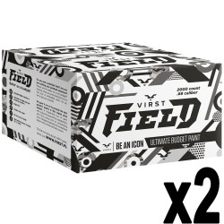 Le lot de 2 cartons de 2000 Billes Virst Field