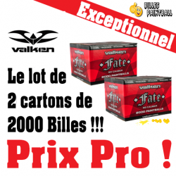 Lot de 2 Cartons de Cal.68 Valken FATE